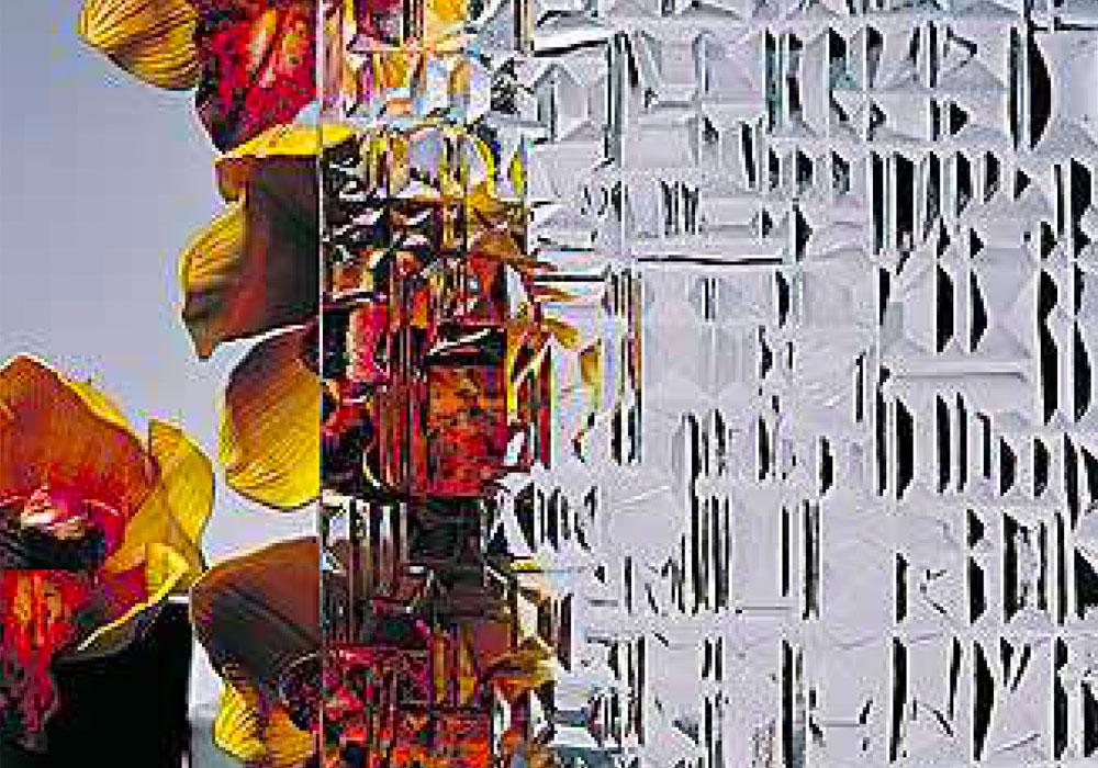 Vitrage Abstrait Blanc